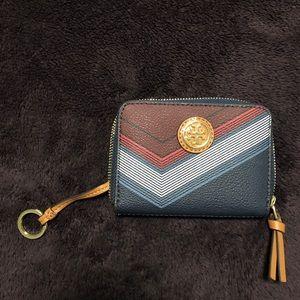 Tory Burch keychain wallet